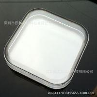 耳机盒数据线U盘包装盒 水晶盒 62*62*18mm 透明塑料盒