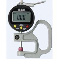 顺丰金数字数显百分测厚规 0-12.7mm0.01mm电子测量厚度计 薄膜测厚仪表 可连接数据线