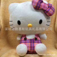 厂家专业生产 出口日本hello kitty 公仔 毛绒玩具订做 商家赠品