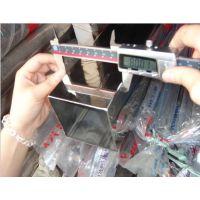 SUS304不锈钢镜面方管规格 80*80精密方管报价