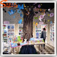热销仿真树植物室内装饰 店铺摆设仿真树杆 高仿真枯树枝 假树干