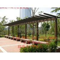 中式葡萄架设计&*欧式葡萄架搭建《碳化木色防腐木葡萄架厂家》台州休闲葡萄架搭建