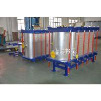 上海将星杨浦区江浦路 的全焊接板式换热器厂家 化工行业专用 石油润滑油冷却 水处理配套 制药冶金