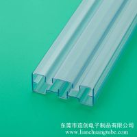 专业定做高透明度滤波器包装管 尺寸精准塑料包装方管