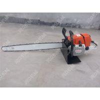 省时省力高效挖树机 链条式两冲程挖树机