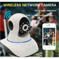 家庭用无线wifi监控摄像头IP Camera 高清数码视频球摄像机直销