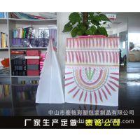 中山厂家生产服装PP手挽袋 PVC透明袋 PP手提购物袋 化妆品手挽袋