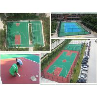 中山篮球场地翻新 珠海丙烯酸篮球场地建设 哪有做水泥地篮球场防滑漆的 塑胶篮球、球场篮球场地画线