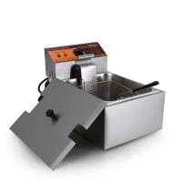 汇利HY-81老款电炸锅油炸炉单缸商用炸薯条炸鸡专用油炸炉电炸锅