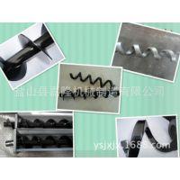 嘉隆供应螺旋叶片 无轴螺旋杆 环保机械专用螺旋杆 质优价廉