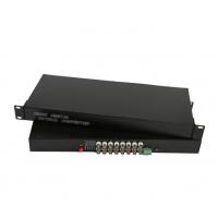 盛泰恒安厂家大量供应多种路数模拟机机架式桌面式视频光端机