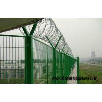 广州机场专用围栏网|机场护栏网厂家|刀片刺绳防护网价格|言必诺专业生产铁丝护栏网