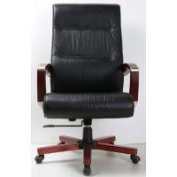 北京黎明LM-3003型德国进口优质半青皮办公椅厂家直销