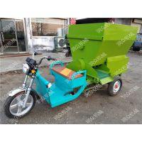 代替人工操作的撒料车 润众 养殖使用的撒料车