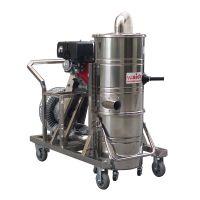 移动式汽油机工业吸尘器|上海威德尔QY-75J道路吸石子吸尘武器