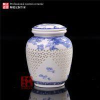 嘉士凡精美陶瓷罐定做 生产高档陶瓷茶叶罐