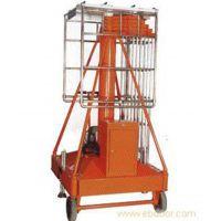 移动升降机机场维修吊顶高空作业升降平台车双梯套缸式升降机