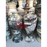 石雕花瓶 大理石花瓶 精品工艺品摆件 室内雕塑摆件 曲阳石雕