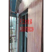 天工仿木纹漆施工注意事项,钢管上手工拉木纹漆施工方法
