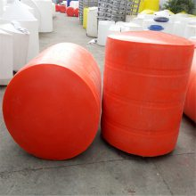 可挂网塑料拦污浮筒 海上大型警示拦截浮体 聚乙烯浮标