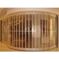 供应陕西瑰宝PVC水晶吊轨折叠门西车间防水隔断门