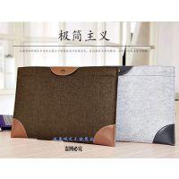 苹果笔记本电脑包macbook air内胆包pro11寸13.3寸保护套毛毡包