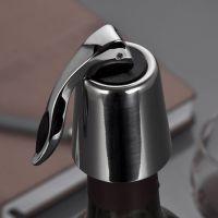 高级可抽真空红酒塞 不锈钢葡萄酒瓶塞 红酒塞子酒具用品