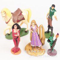 迪士尼正版 魔发奇缘 Tangled长发公主姑娘 5款公仔人偶手办模型