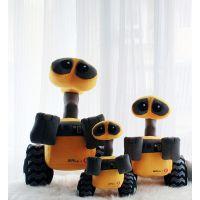 定做生产 机器人总动员 机器人瓦力 毛绒玩具 WALLE精品特惠