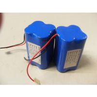 供应 应急灯 充电投光灯 7.4V 4400MAH 18650电池组 LED照明电池