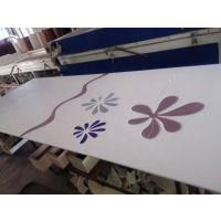 木塑板材料uv平板打印机印刷设备