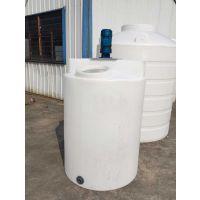 丽水1吨加药箱1000升药剂桶搅拌桶PE