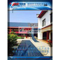 实力厂家 艾斯曼PVC树脂瓦挤出机 T型PVC波浪瓦生产线