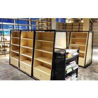 大沣货架-轻量级单面铁木结合层格式5层图书货架(DF-307)