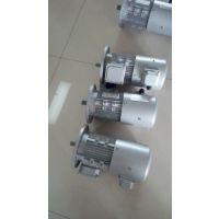 上海嘉定区铝合金涡轮减速机经常匹配变频电机YVP8024-0.75KW/B5