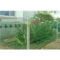 江汉区花园围栏 网子带有折弯的钢丝网 小区隔离专用护栏