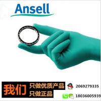安思尔Ansell 92-600手套 化学抗刺穿耐酸碱一次性橡胶工业手套现货