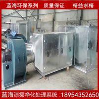 成都蓝海工业空气净化器漆雾净化设备干式湿式洗尘柜高清图片