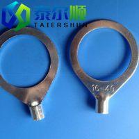 厂家供应 OT25-18纯非标圆形冷压端头 铜端子 可生产不锈钢端子