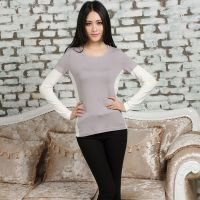 2014新款女式  韩l版长袖t恤女 打底衫 秋装时尚女装女士新款批发
