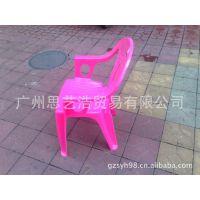 低价直销儿童塑料椅 餐桌靠背椅 方凳 塑料加厚方凳 厂家直销