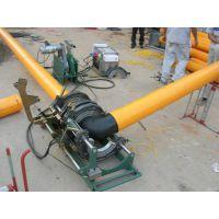 杭州燃新专业供应青岛能源泰能燃气PE管全自动热熔对接焊机63-250/90-315打印小票 数据U盘