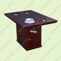 电磁炉火锅桌椅促销 北欧风格火锅桌 高端智能火锅大理石桌子 批发定做