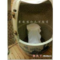 活瓷能量浴缸 小巴马能量缸 景德镇陶瓷养生翁