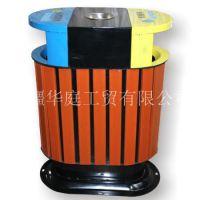 新疆垃圾桶/新疆塑木垃圾桶比实木更耐用的生产厂家/果皮箱价格优惠