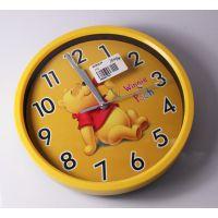 直销现货 卡通钟表礼品 电子机芯数字挂钟  客厅 卧室圆形挂钟
