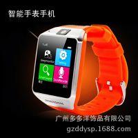 供应新款智能插卡超薄触屏腕表 手表手机蓝牙拍照手表批发173716