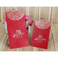 定制 婚庆用品 结婚红包 珠光百元红包 烫金利是封 千元红包批发