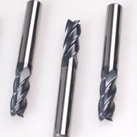 进口高硬度4刃钨钢立铣刀_3mm进口钨钢铣刀_加工中心cnc数控刀具