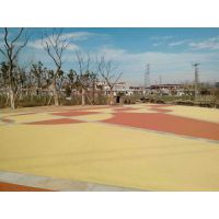 生态城市的守护者--彩色透水地坪彩色透水混凝土地坪 徐州彩色透水地坪 淄博市彩色透水地坪 彩色透水地